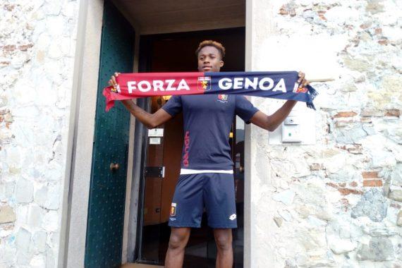 Kouamè è del Genoa, le sue prime parole