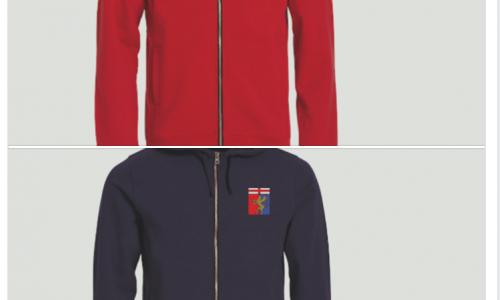 Hoody Full Zip Genoa: stiamo per celebrare una storia senza eguali! Meglio rossa o blu?