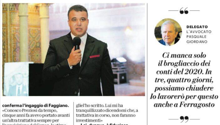 Genoa, altro colpo di scena, il miliardario Rahhal Boulgoute vuole chiudere ora