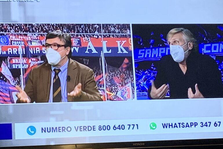 """Porcella vs tutti a Primocanale, telespettatore rosica (ancora!) per """"io non mi siedo"""" di Ballardini. Nicolini: """"fu mancanza di rispetto"""""""