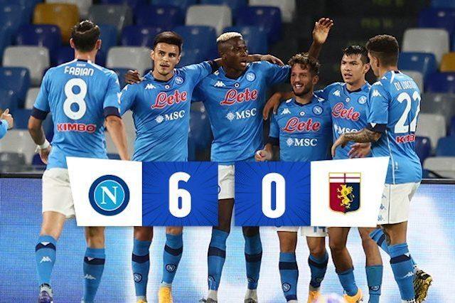 """Il Napoli umiliò un Genoa contagiato. Stasera il Grifone sogna la """"vendetta"""""""