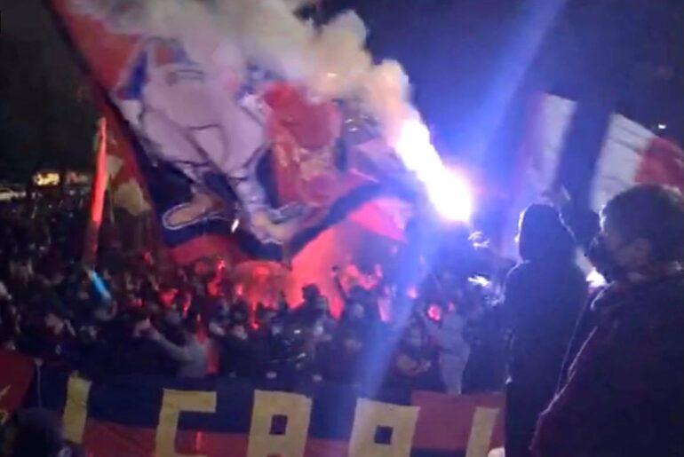 Tifosi Genoa allo stadio, ipotesi di come e quando. De Laurentiis intanto sbrocca