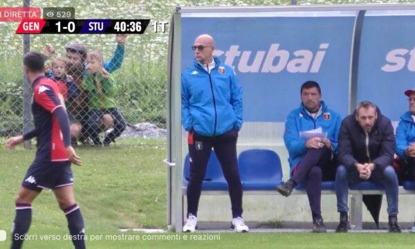 Contestazione a Preziosi e cori pro Ballardini in Genoa Stubai: video, gol e highlights